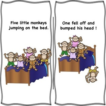 5 Little Monkeys Adapted 4 Ways  Interactive Story