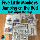 ‪‬5 Little Monkeys Adapted 4 Ways  Interactive Story