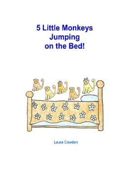 5 Little Monkeys Jumping on the Bed - Interactive Circle Time - Autism
