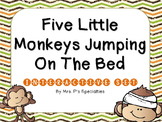 5 Little Monkeys Jumping On The Bed Interactive Set