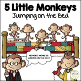 5 Little Monkeys Jumping on the Bed