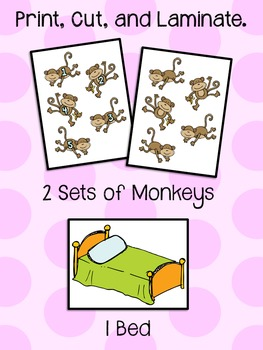 5 Little Monkeys Jumping on the Bed - Song Pieces