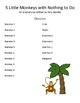 5 Little Monkeys Readers Theater
