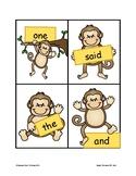 5 Little Monkeys Sight Word Practice