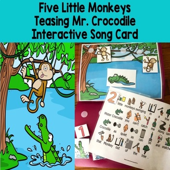 5 Little Monkeys Swinging From A Tree Circle Time Fun