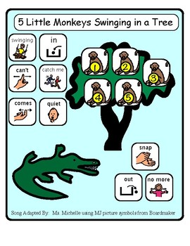 5 Little Monkeys Swinging In The Tree Adapted Song