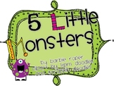 5 Little Monsters Book