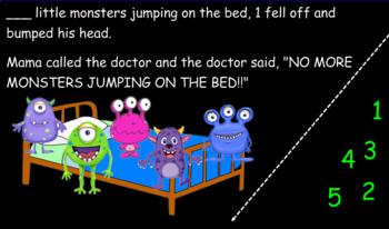5 Little Monsters Smart Notebook