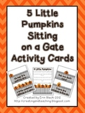 5 Little Pumpkins Activity Cards