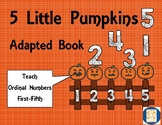 5 Little Pumpkins Adapted Book, Autism, Speech and Language