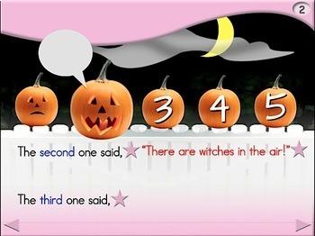 5 Little Pumpkins - Animated Step-by-Step Poem - Regular