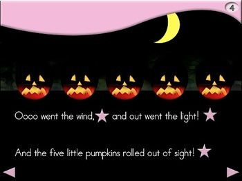 5 Little Pumpkins - Animated Step-by-Step Poem - Regular