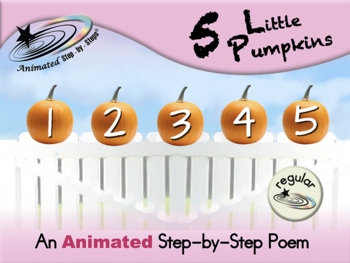 5 Little Pumpkins - Animated Step-by-Step Poem