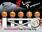 5 Little Pumpkins - Animated Step-by-Step Poem - VI