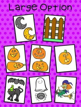 5 Little Pumpkins - Bulletin Board Set