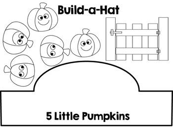 5 Little Pumpkins Common Core Literacy & Math Mini Unit