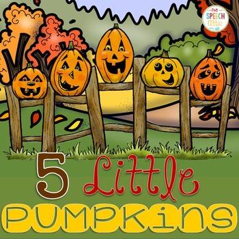 5 Little Pumpkins Interactive Book