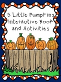 5 Little Pumpkins Interactive Book and Activities
