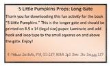 5 Little Pumpkins Long Gate Book Prop