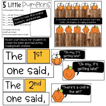 5 Little Pumpkins Math