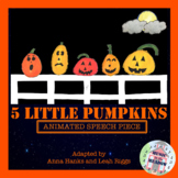 Five Little Pumpkins: Animated Halloween Song Book Poem