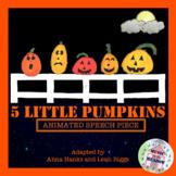 Five Little Pumpkins: Animated Halloween Song Book Poem