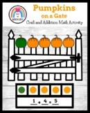 5 Little Pumpkins Sitting on a Gate Craft (Fall, Halloween, Trick-or-Treat)