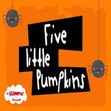 5 Little Pumpkins Sitting on a Gate Music Video