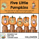 5 Little Pumpkins Song and Literacy Pack