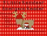 5 Little Reindeer Emergent Reader-3 versions!
