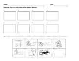 5 Little Reindeer Story Sequence