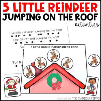 5 Little Reindeer song pack