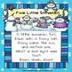 5 Little Snowmen - A Winter Poem {Freebie!}