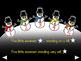 5 Little Snowmen - Animated Step-by-Step Poem - VI