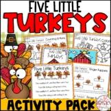 5 Little Turkeys (Five Little Turkeys)