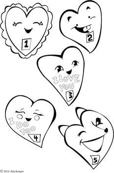 5 Little Valentines Rhyme