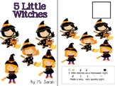 5 Little Witches Adapted Book