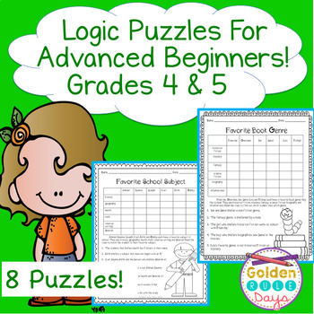 Critical Thinking and Enrichment with Logic Puzzles