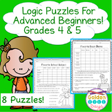 Logic Puzzles for Critical Thinking and Enrichment!
