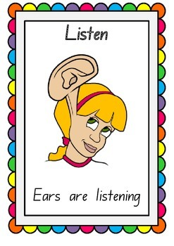 5 L's of active listening posters
