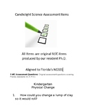 5 M/C Assessment Questions covering Florida standards SC.K.P.9.1