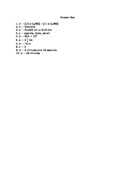 5.MD.1 Assessment
