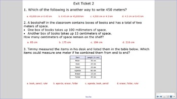 5.MD.1 SMART Board Lessons [73 Slides, ~1 week of instruction]