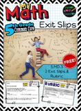 5.MD.3 - Volume - 2 FREE Exit Slips & Rubric