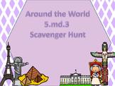 5.MD.3 Scavenger Hunt (Volume)