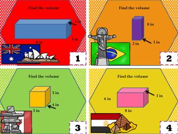 5.MD.3 Volume Task Cards (formula)