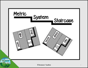 A.1  Metric Conversion Staircase   Gray Background
