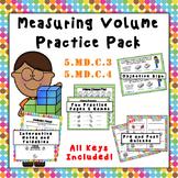 5.MD.C.3 & 5.MD.C.4  Measuring Volume Practice Pack