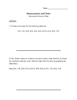 5.MD Measurement and Data