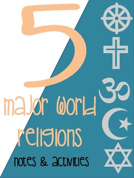 5 Major World Religions Activities